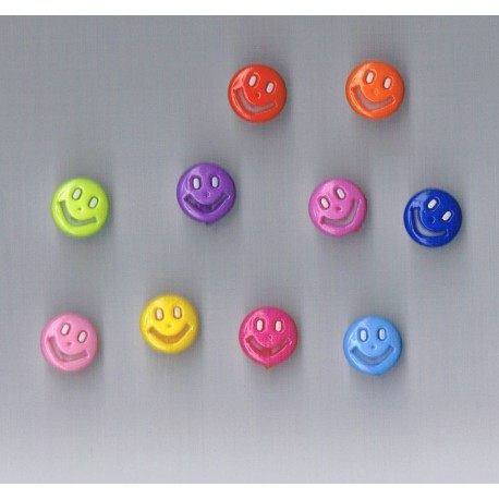 Bouton enfant smiley