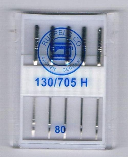 Ruppel Aiguilles pour la machine à coudre nr. 80 STANDARD