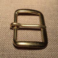 Boucle de ceinture 30mm métal doré heavy duty