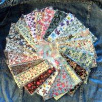 Lot de Coupon tissus 20 pièces 45x45cm 100% coton Patchwork / Loisir