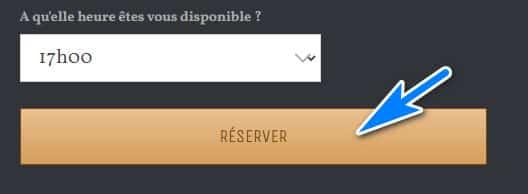 Effectuer ma réservation en un clic