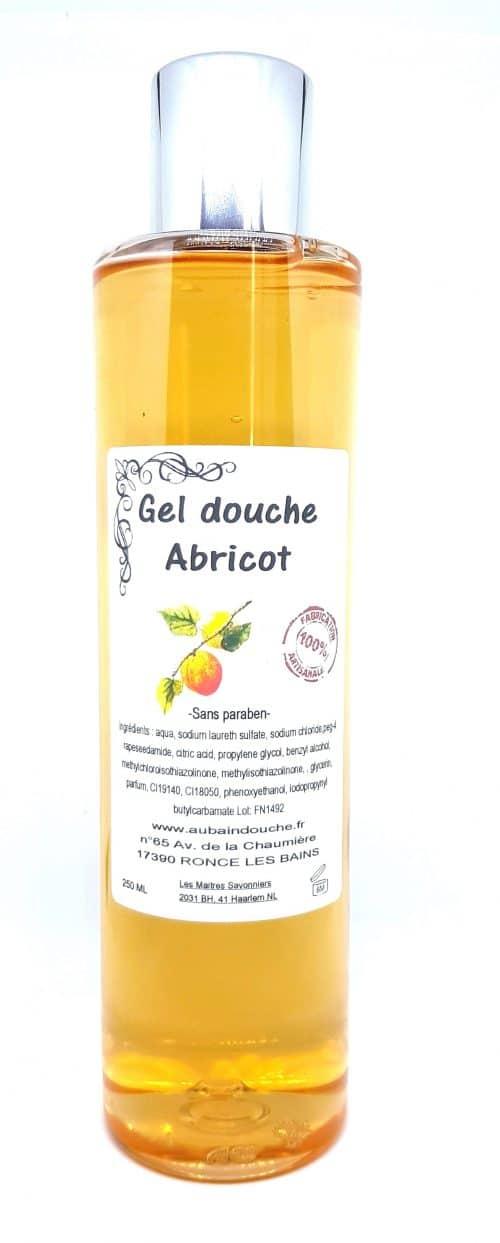 ABRICOT SANS PARABEN Fabrication Artisanale AU BAIN DOUCHE