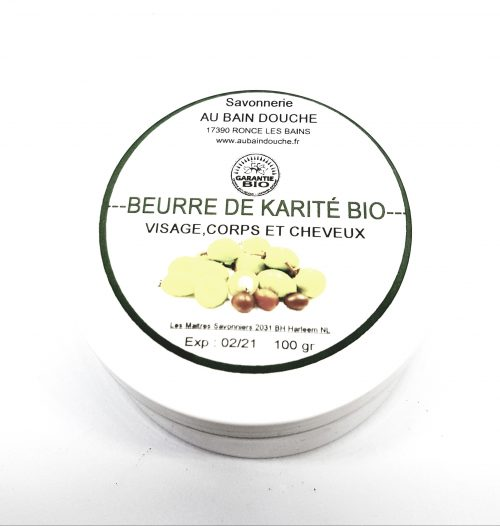 BEURRE DE KARITE BIO BEURRE DE KARITE BIO (100%) Sans colorant