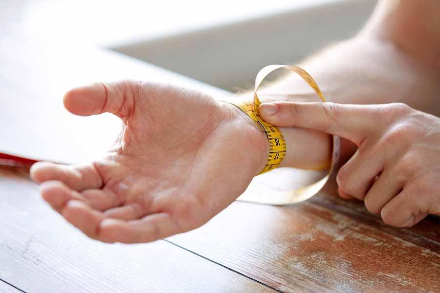 mesurer son poignet pour bracelets et montres